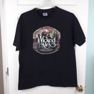 Vintage Pete's Wicked Ale Single Stitch T Shirt